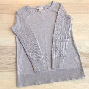 Loft tan sweater
